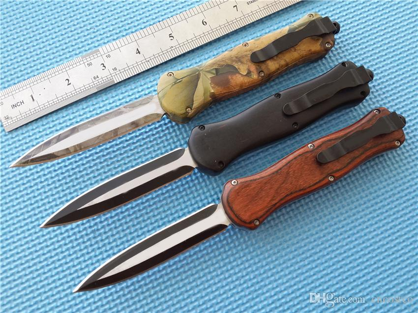BM 3350 166 Infidell Pocket knive Black D2 steel double edge Plain tactical survival gear knives with retail box D/A 3300