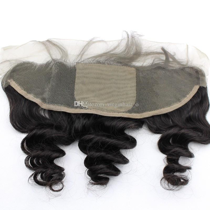 13x4 шелк база кружева фронтальной с пучками Малайзии свободная волна вьющиеся человеческие волосы бесплатный Ближний 3 часть шелковый топ кружева фронтальная закрытие