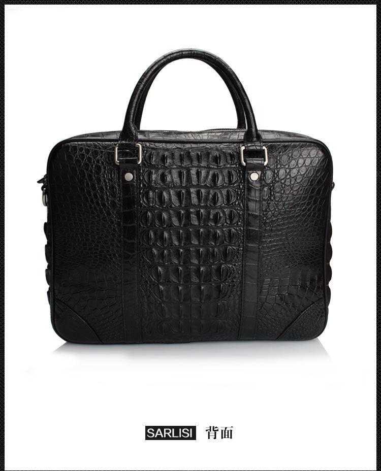 Wholesale 2016 Fashion Men S Genuine Real Crocodile Skin Briefcase Laptop  Bag Top Handbag Black Brown Coffe Satchel Messenger Bags From Fairness01,  ... 1d3d244b0b