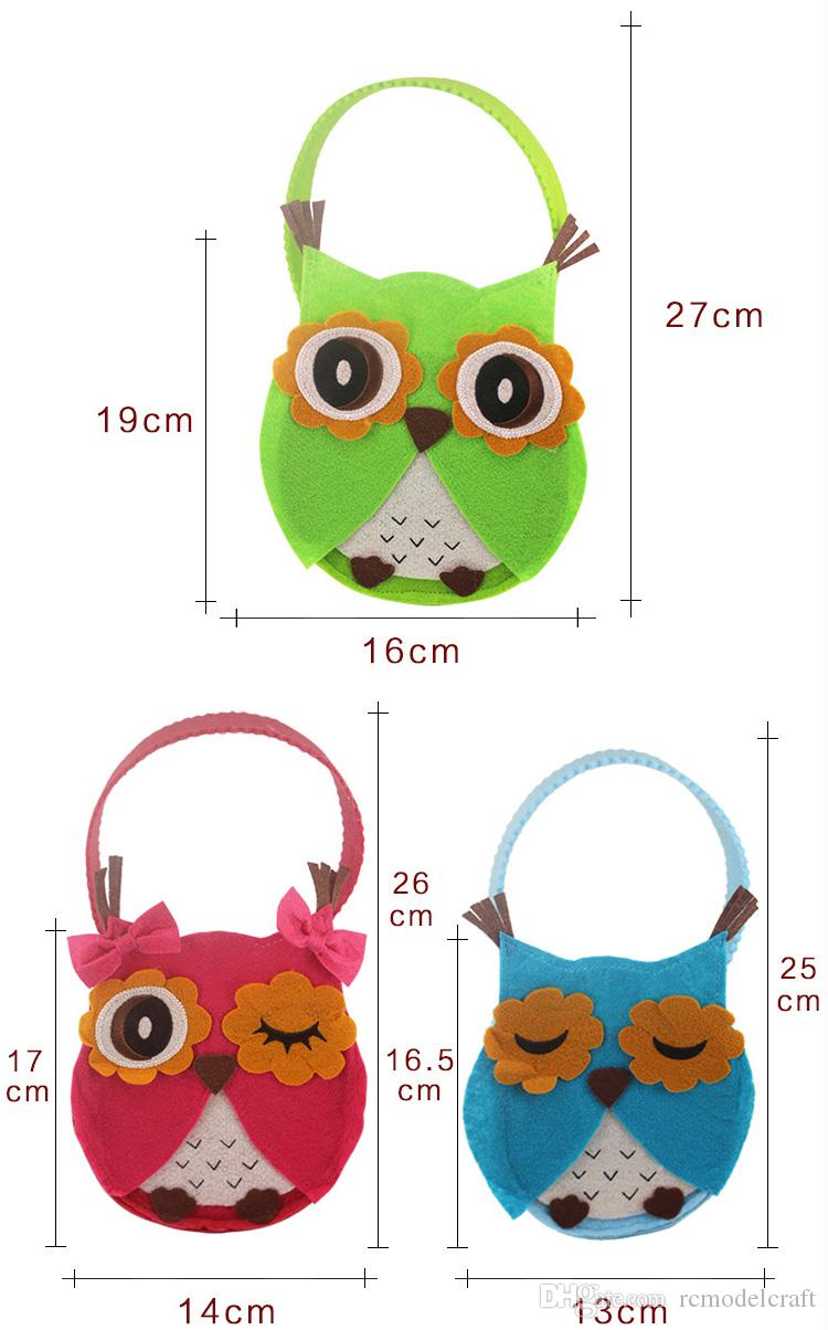 new xmas gift bag owl biscuit chocolate bag cookie christmas candy decorating bags household decor christmas decorations sale christmas decorations sale