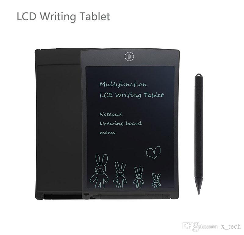 8.5' LCD Digital Writing Drawing Tablet Board Electronic Small Blackboard Paperless Office 8.5 inch Handwriting Pads with Stylus Pen for kid