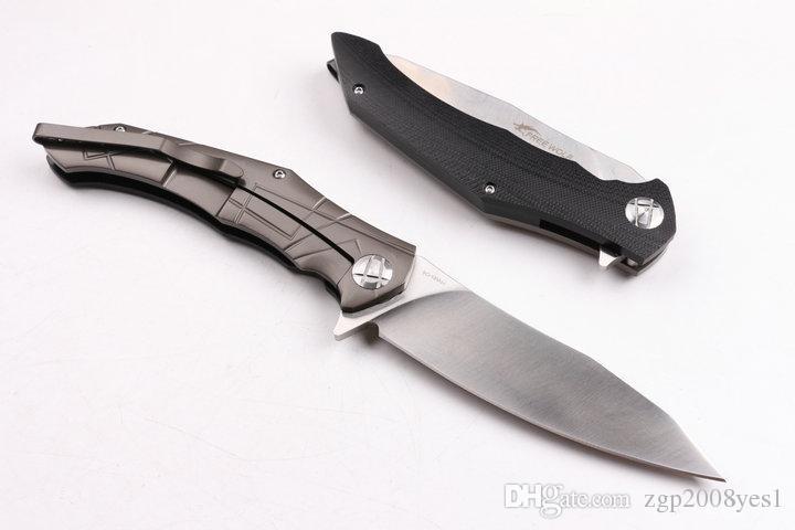 Alta qualidade LIVRE. WOLF faca dobrável tático camping caça faca de sobrevivência 9cr18mov facas de bolso lâmina G10 lidar com ferramentas edc