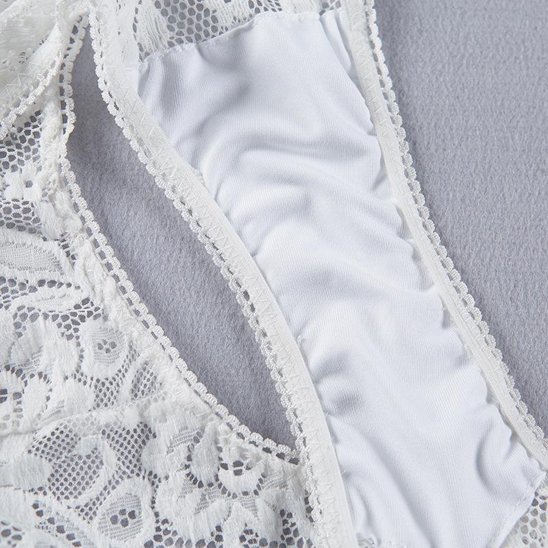 Sexy Lace Underwear Women Briefs New Arrival Women Panties Sexy Passion Lingerie Silk Intimates Butt Women's Transparent Briefs Panties