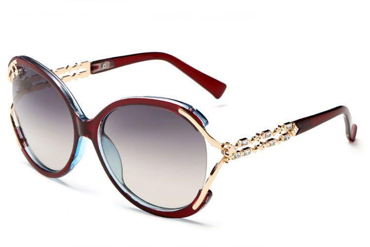 Sunglasses For Women UV 400 Womens Rhinestone Designer Sunglasses Ladies Sunglass  Oversized High Quality Sunglases Woman Sun Glasses 5C1J6 Sunglasses Case ... 9da6c6f6c2