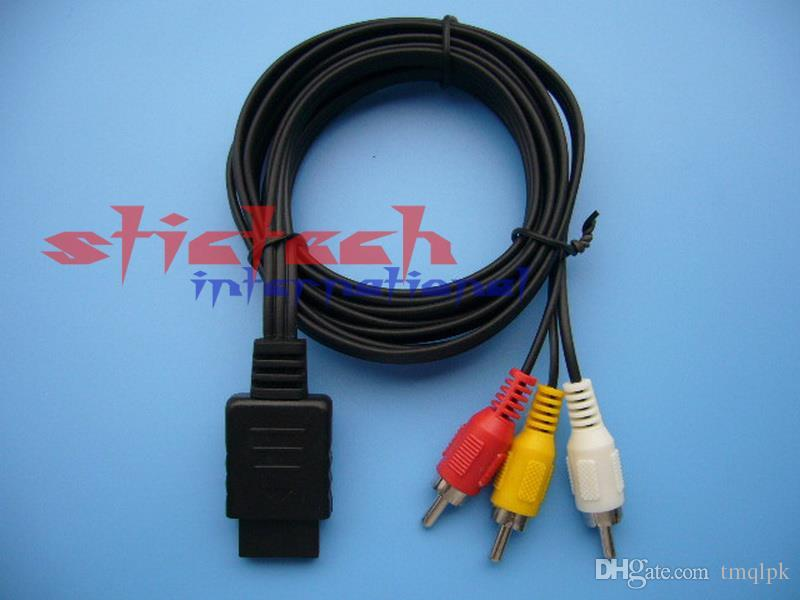 Wholesale Hot Sale Av Tv Rca Video Cord Cable For Game Cube/For Snes ...