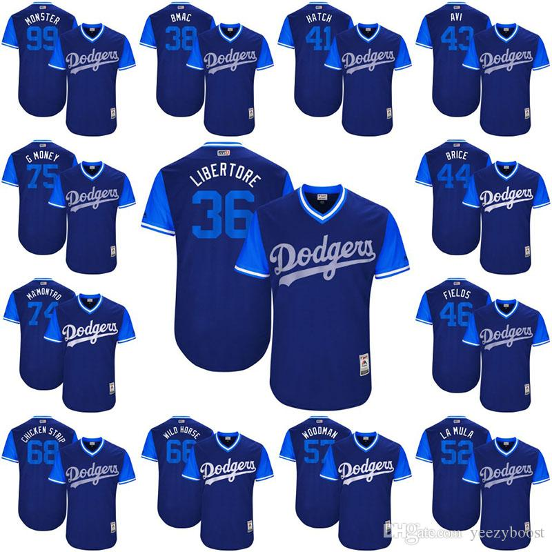 2019 Adam Liberatore 2017 Little League World Series Players Weekend  Brandon McCarthy Angeles Dodgers Luis Avilan Hill Los Angeles Dodgers  Jersey From ... 1ea004aaf30
