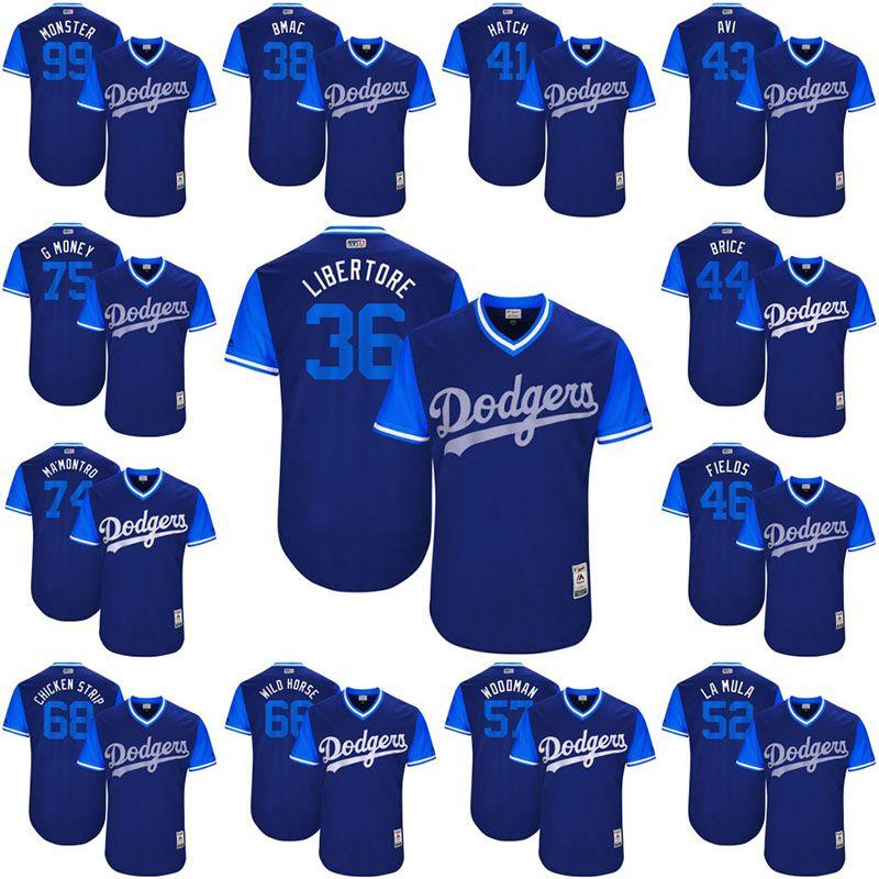 2019 Adam Liberatore 2017 Little League World Series Players Weekend  Brandon McCarthy Angeles Dodgers Luis Avilan Hill Los Angeles Dodgers  Jersey From ... 168d9418ec1