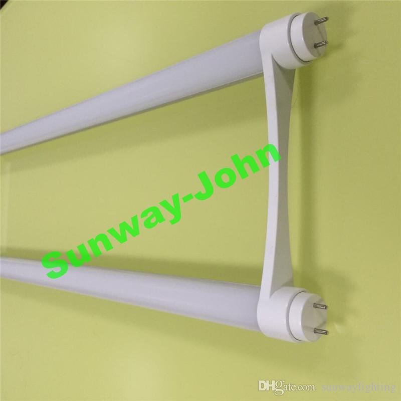 T8 LED U Tube ampoules 2ft G13 ont conduit les lumières des tubes en forme de U 18w 22w lampe fluorescente conduit 568MM AC85-265V Garantie 3 ans