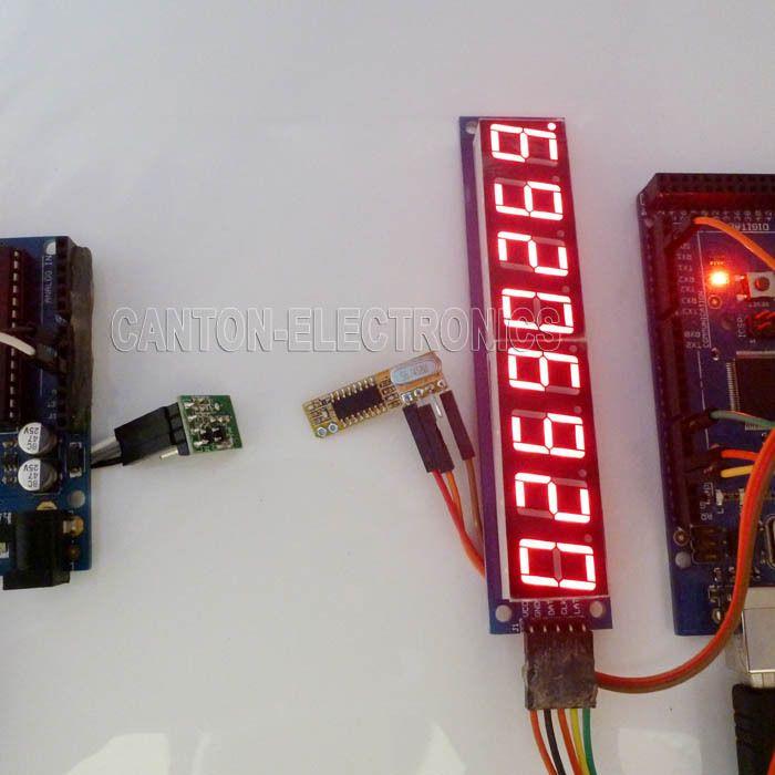 with Arduino sketch! Digital Tube LED & 433m RF Wireless Module foRF  Wireless PC Control USB Arduino Wireless Controller