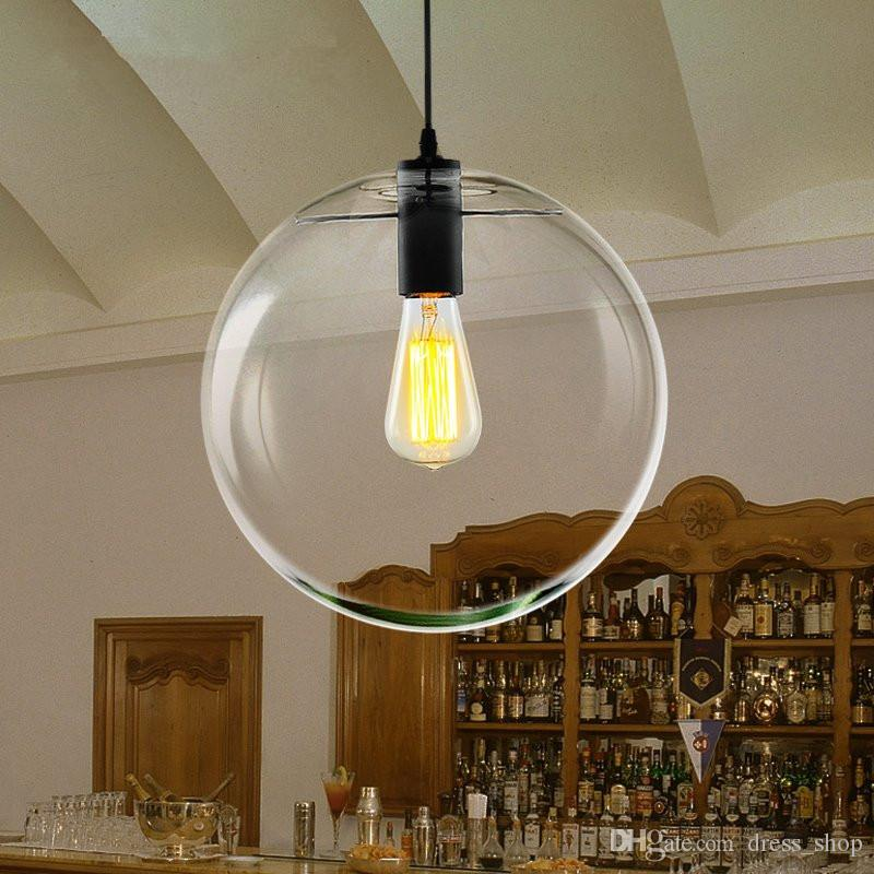 glass pendant lighting fixtures. discount modern nordic lustre globe pendant lights glass ball lamp shade hanging e27 suspension kitchen light fixtures home lighting decorative