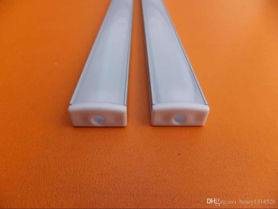Prezzo di fabbrica Profilo della striscia di alluminio anodizzato chiaro all'ingrosso, barra LED PCB da 11 mm, canale LED