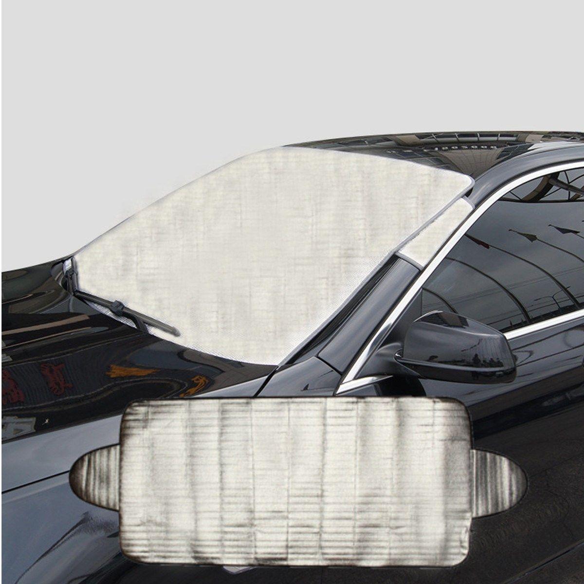 Auto Windschutzscheibe Visier Abdeckung Hitze Sonnenschutz Anti UV Schnee Frost Ice Shield Staubschutz