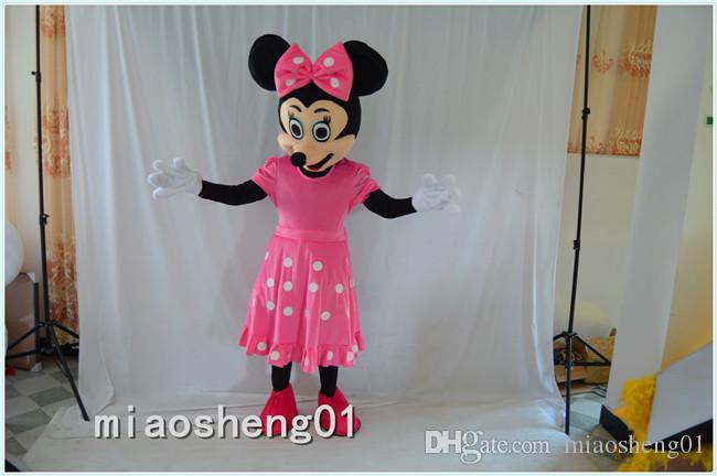 2016 High Quality Minnie Mascot Costume Pink Minnie Mouse Mascot Costume Halloween Costume Mascot Companies Lion Mascot Costumes From Miaosheng01 ... & 2016 High Quality Minnie Mascot Costume Pink Minnie Mouse Mascot ...