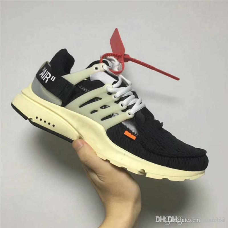 6bc3bb0c92f01d 2019 2017 HOT SALE THE TEN OFF WHITE X AIR PRESTO VIRGIL ABLOH MEN AND  WOMEN RUNNING SNEAKERS TOP OUTDOOR SPORT SHOES From Huangsr