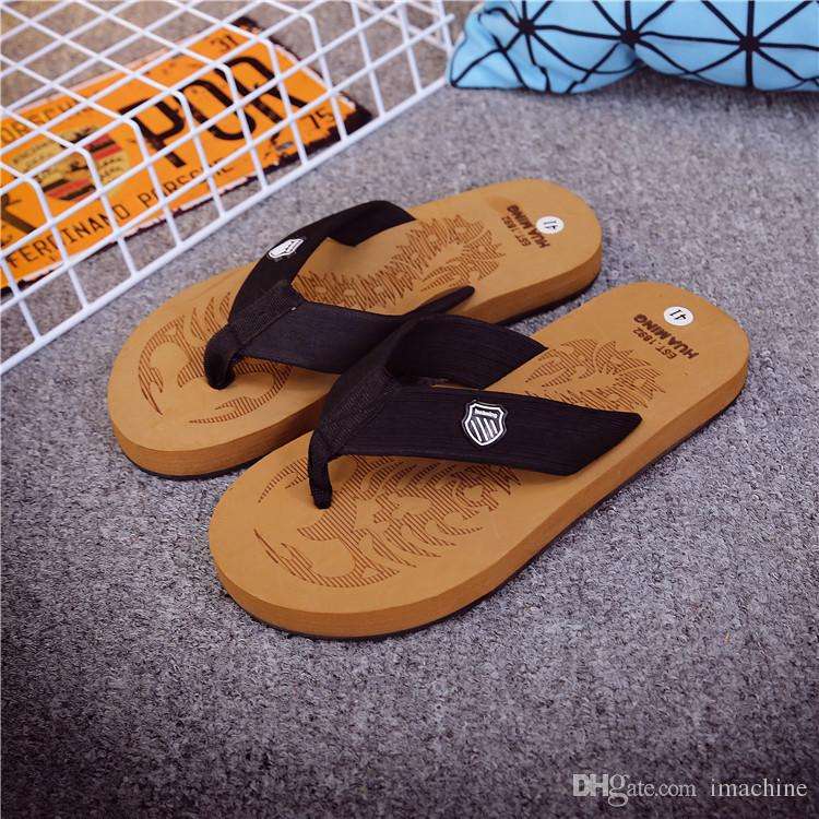 Men's Sandals Scorpion Flip Flops Massage Rubber Slippers A Men's Home Leisure Slippers