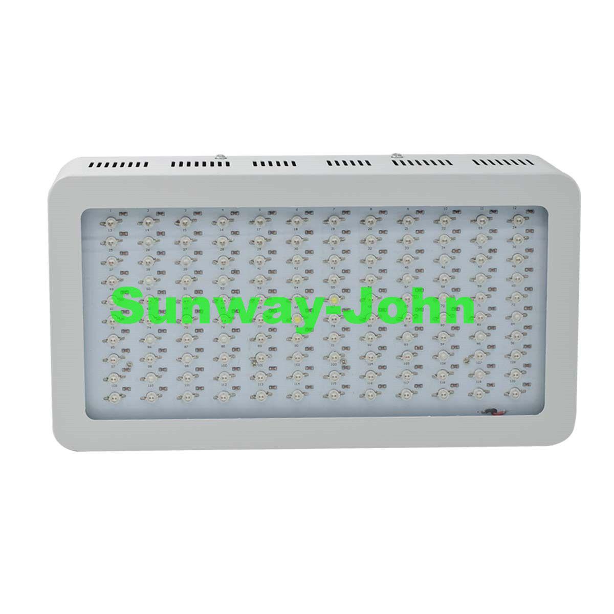 Volles Spektrum LED wachsen Licht 1200W Doppel-Chips LED wachsen Lichter indoor Hydroponic Systems Plants Lampe für das Blühen und das Wachsen