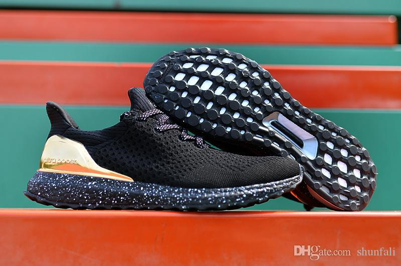 fd69dfa5adfe4 ... clearance wholesale high quality hypebeast ultra boost uncaged man  running shoes black gold mens with original