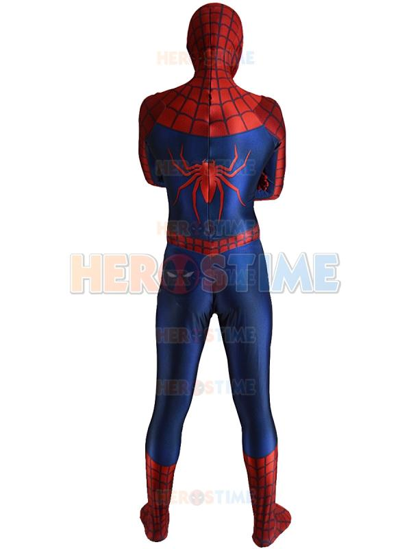 2016 Raimi Spiderman Costume 3D Printed Spandex Halloween And Cosplay Party Spider-man Superhero Costume The Most Popular