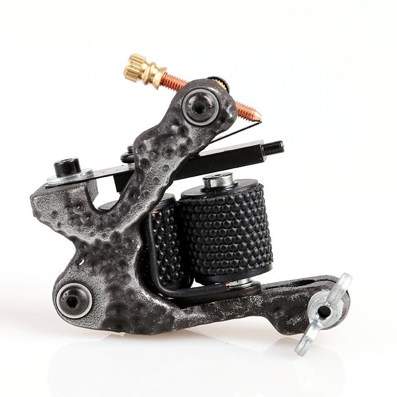 Máquina giratória superior do projeto novo para a arma de motor da tatuagem do ferro fundido do preto da máscara com de alta qualidade