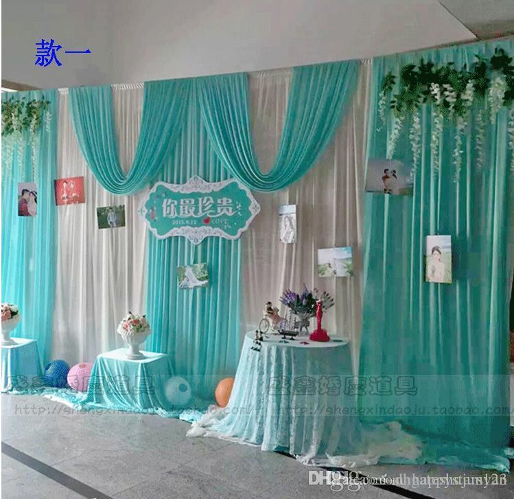 drapes draping wedding weddings de fabric cheap custom for backdrops lighted pin