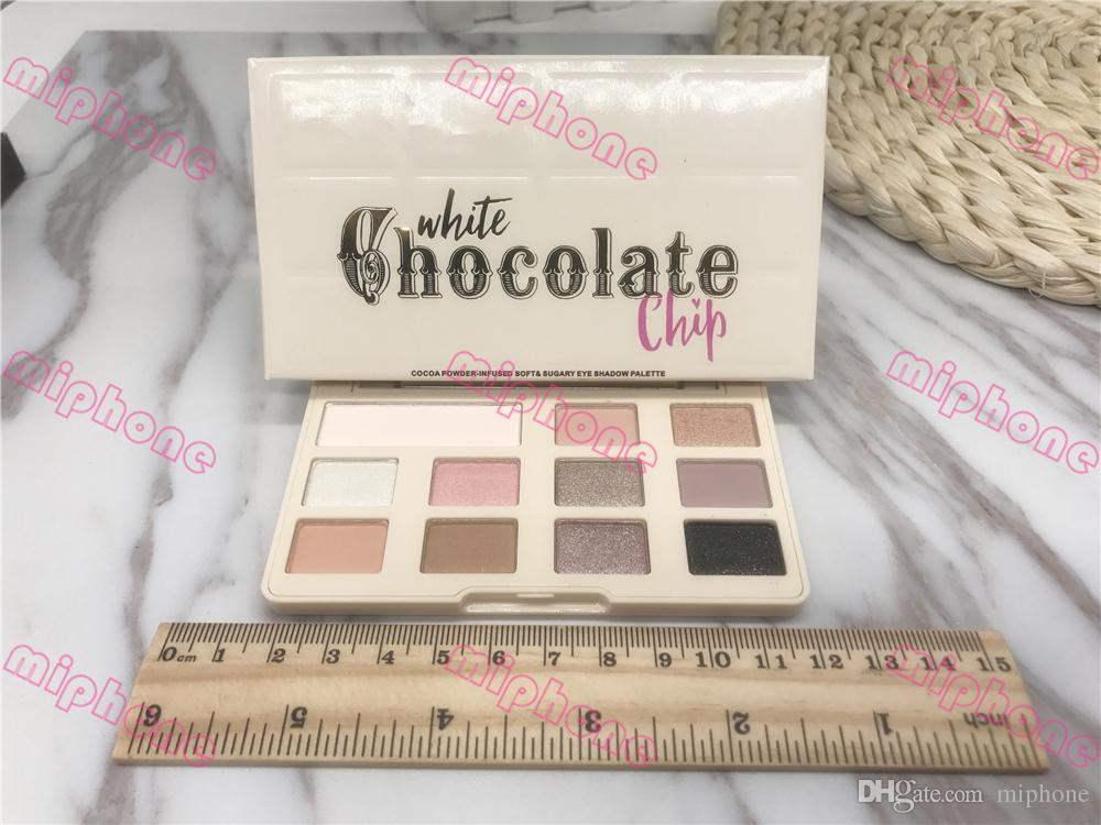 White Chocolate Chip Eye Shadow Makeup Too Matte chocolate chip eyeshadow Palette Makeup eyeshadow Face with chocolate smell