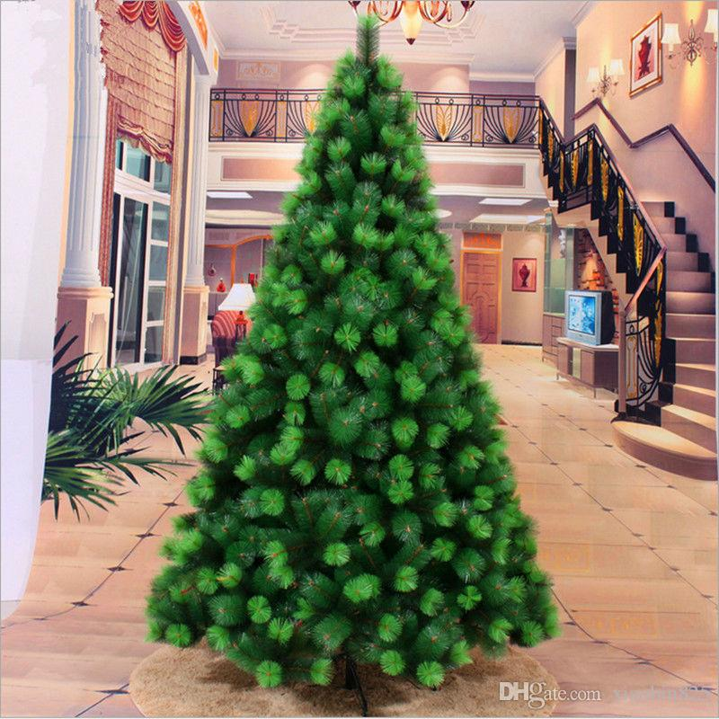 24 m 240cm color of pine needles christmas tree decorations christmas gifts christmas shopping malls hotels christmas lawn ornaments sale christmas led