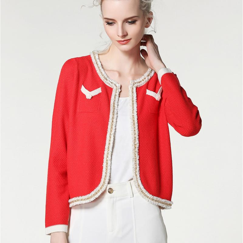 894efde33214e5 2019 Wholesale 2017 Spring And Summer New Hot Women Sweater Leisure Fashion  Cardigan Long Sleeved High Quality Ladies Sweaters From Bairi