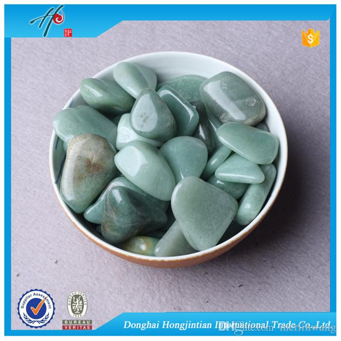 Green Aventurine Wholesale Tumbled stone 9-60mm Natural Crystal Beads Healing reiki & good lucky energy stones