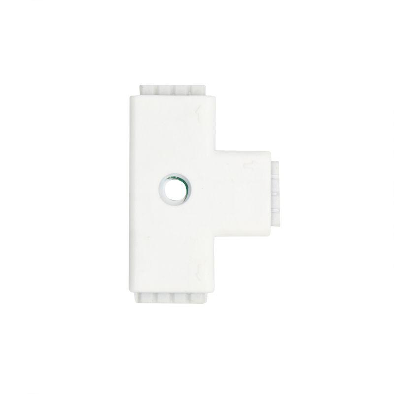 RGB T En Forme 4 Broches 3 Voies Connecteur Femelle Adaptateur Pour 3528 5050 LED Bande Lumineuse