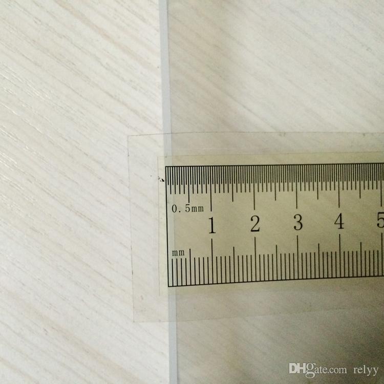 10 шт. Без логотипа пластиковая упаковка коробка PP прозрачный материал подарочная коробка квадратная коробка подарка размер 120x125x30MM 4,73 x 4,93 x 1,19 дюйма