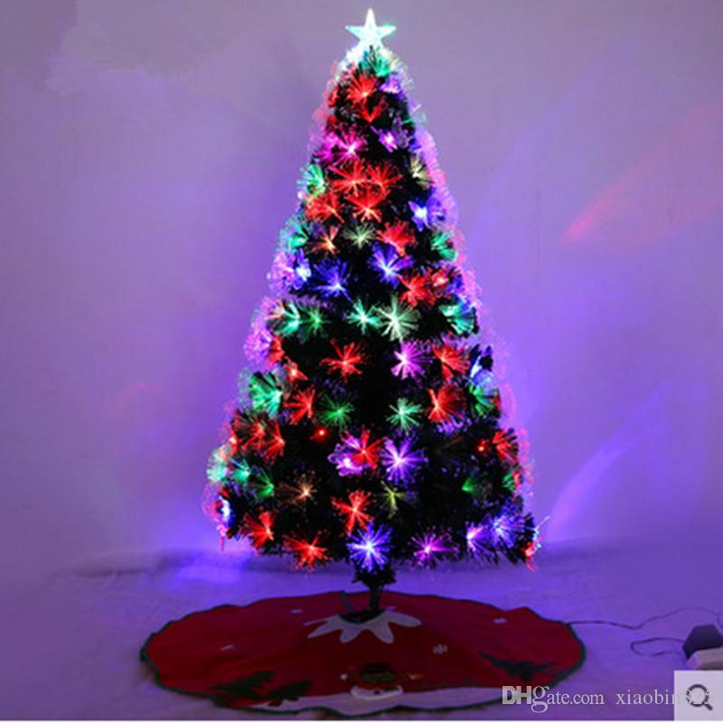 15 m 150cm fiber optic christmas tree ornament christmas tree skirts with large shopping window decoration christmas tree christmas decorations to buy