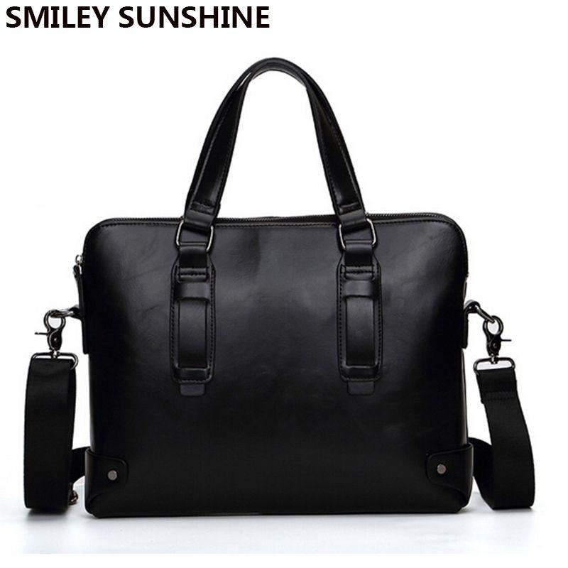 Wholesale Vintage Men Briefcases Work Bag Business Office Bag Male Laptop  Bag Crazy Horse PU Leather Briefcase Attache Case Men Brief Case Leather  Briefcase ... ad497de0f0f1