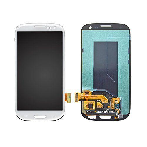 blue and White For Samsung Galaxy S3 i9300 LCD Display Touch Screen Digitizer+Frame Assembly Replacements Parts Tracking No