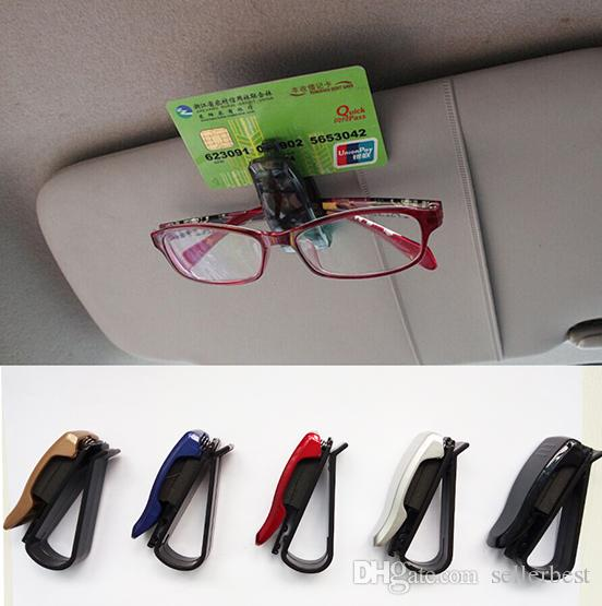 DC-1301 TYPE R TYPER accessoires de voiture de voiture Sun Visor Lunettes de Soleil Eye Glasses Carte Pen Holder Clip Stand pour Voiture Auto Véhicule Touring articles