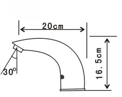 Torneira do sensor / bica do sensor / torneira do banheiro / toque torneira livre / torneira eletrônica pública