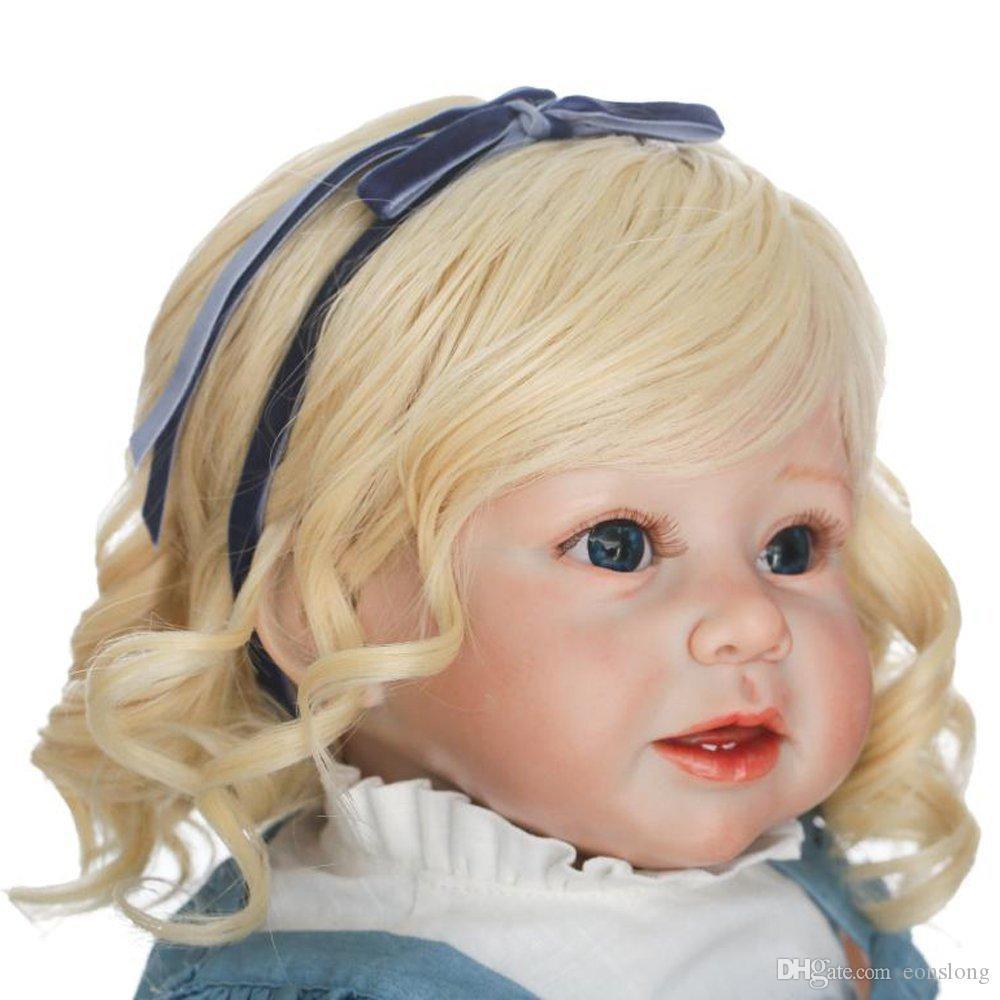 Мягкие силиконовые реалистичные Reborn Modylers Girls Baby Dolls 28
