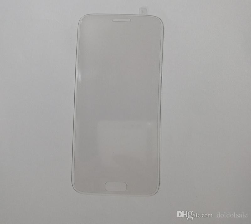 삼성 갤럭시 S7 G930 G9300 S7 에지 + 청소 닦음 전체 화면 보호기 전체 커버를위한 3D 곡선 전체 강화 유리 필름