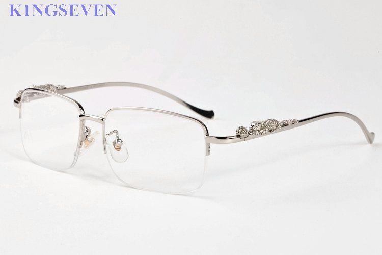 fashion attitude sunglasses for men women glasses leopard frames sunglasses women gold silver alloy metal frame new eyewear with box
