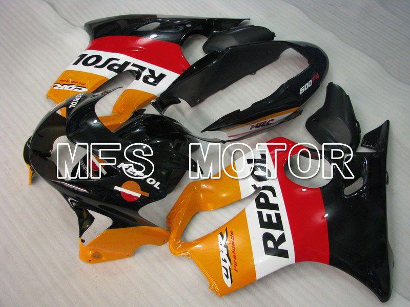 Комплект 1999 2000 Bodywork прессформы впрыски Зализа ABS мотоцикла пластичный для Honda CBR600 F4 99 00