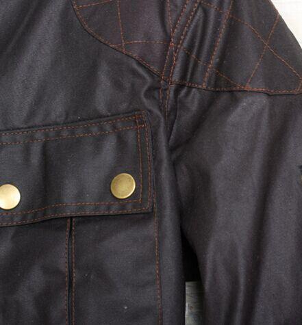 2016 고품질 핫 새 톰 크루즈 재킷 짧은 남자 재킷 남자 코트 블랙 남자 겉옷