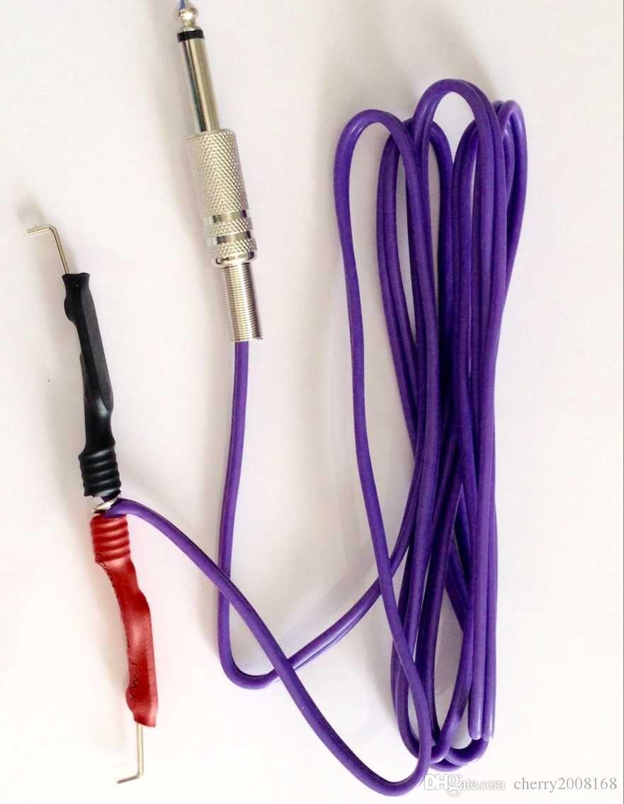Großhandel Tattoo Clip Cords gemischte Farben-Silikon-Gel-Tätowierung-Klipp-Schnur für Tätowierung-Maschinengewehr-Stromversorgung