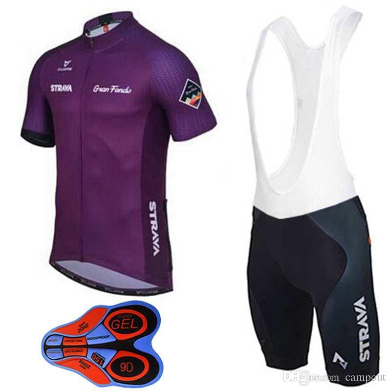 5afc1bfb6 9D GEL Paded Bike Bib Pants Cycling Jerseys Ultra Breathable Bike Wear  Purple Bicycle Jerseys Men Women MTB Ropa Ciclismo Sport Wear Unique Cycling  Jerseys ...