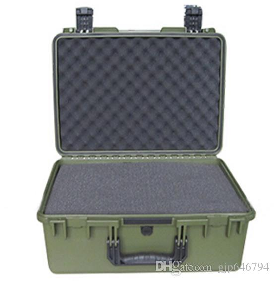 tool case 2608 instrument meter box 570*418*228 mm waterproof safety equipment case camera case with pre-cut foam lining