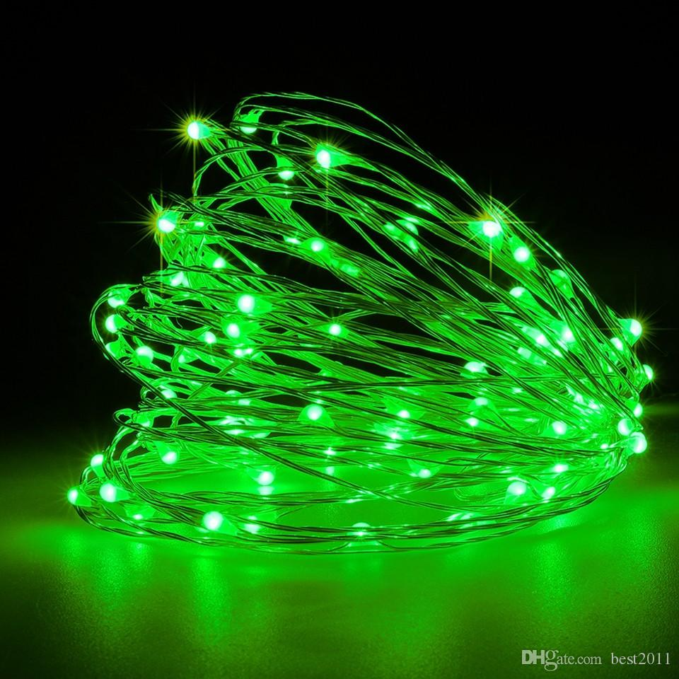 LED String Lights 10M 33ft 100led 5V USB Powered Outdoor Waterproof Warm white/RGB Copper Wire Christmas Festival Wedding Party Decoration