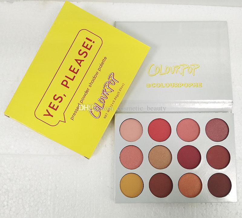 في الحال! COLOURPOP أعتقد أنني أحب U EyeshadowFEM ROSA 12 لون نعم ، من فضلك! palatte بودرة مضغوطة Fem rosa SHE Shadow Palette #colourpopme