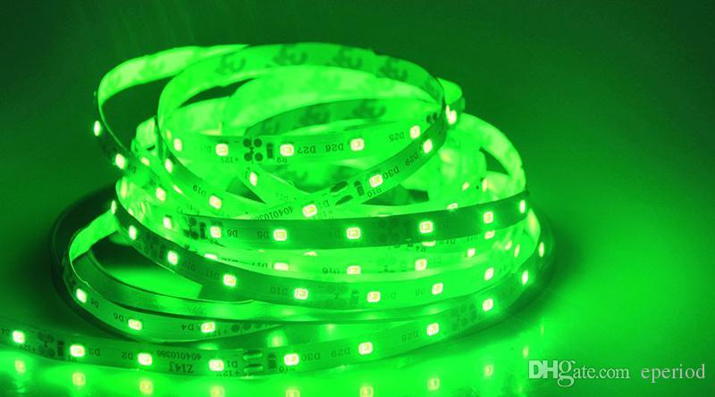 LED Strip 3528 SMD 5M 60leds/m DC12V LED Ribbon Diode Tape RGB & Single Colors non-waterproof Led strip