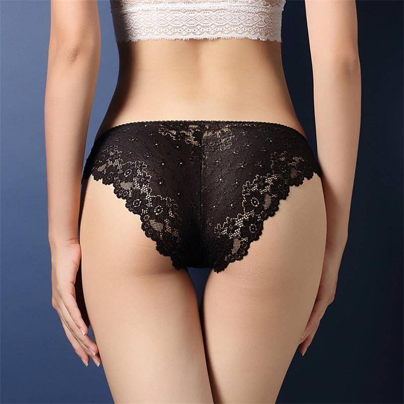 c76642ce5c 2019 Sexy Transparent Lace Seamless Plus Size Panty Sexy Fashion Women  Panties Cotton Lace Women Panties Sexy Underwear From Colin scot