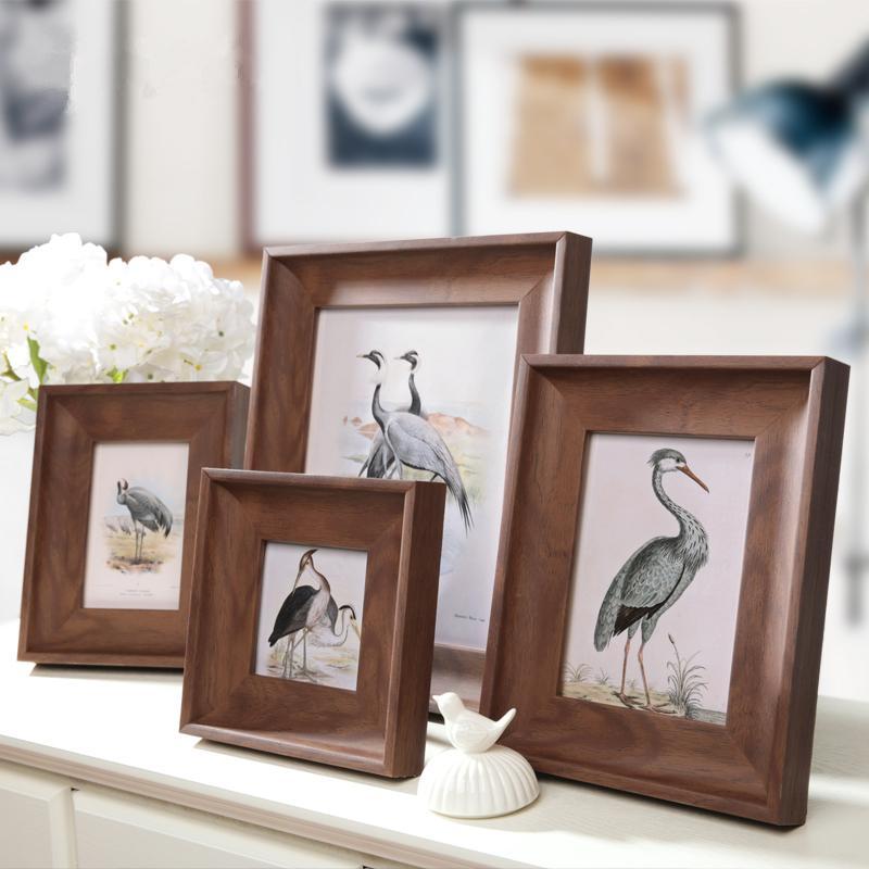 2018 Hot Sale! Wooden Picture Frames Photo Frames 7/10 Inch Frames ...