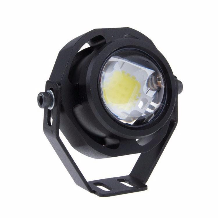 L.M 12V 10W Cree Car Moto LED 독수리 눈 운전 DRL 안개 램프 화이트