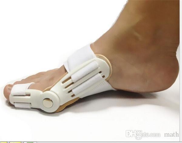 Dispositivo Borsite di alta qualità Alluce Valgo Bretelle Correzione della punta dei piedi Correttore di cura Pollice Goodnight Daily Brace a forma di osso